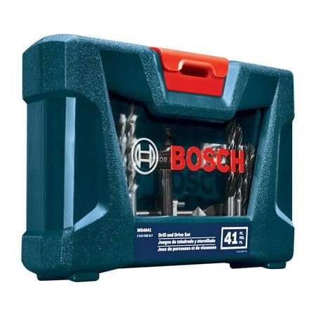 Bosch MS4041 41 Pc Drill and Drive Bit (Bosch Steel Drill)