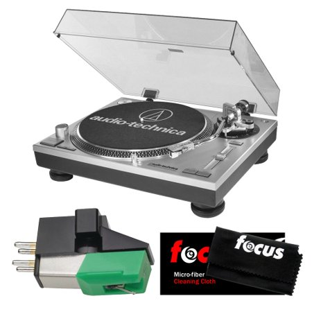Audio-Technica AT-LP120-USB Direct-Drive Professional Turntable w  USB Port with .4 X .7 Half-Inch Mount Phono... by