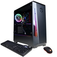 CYBERPOWERPC Gamer Xtreme GXi11388WV2 w/ Intel Core i7-10700K 3.8GHz, NVIDIA GeForce RTX 2070 Super 8GB, 16GB Memory, 240GB SSD, 2TB HDD, WiFi and Win 10 Home 64 bit Gaming PC