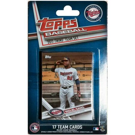Minnesota Twins 2016/17 Team Set Baseball Trading Cards - No Size