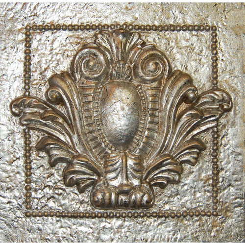 Hickory Manor House Single Crest Tile Wall D cor