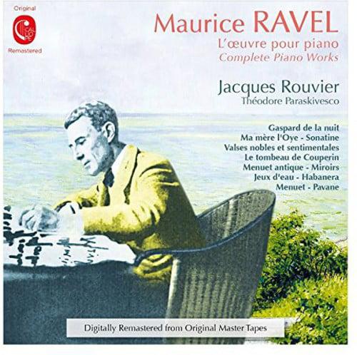 Jacques Rouvier Integrale De L Oeuvre Pour Piano [CD] by