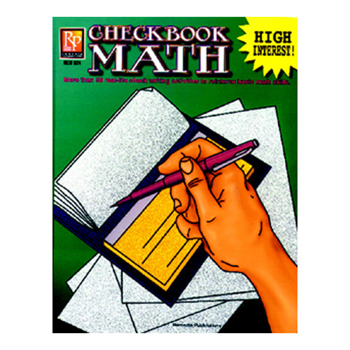 Remedia Publications Checkbook Math Book