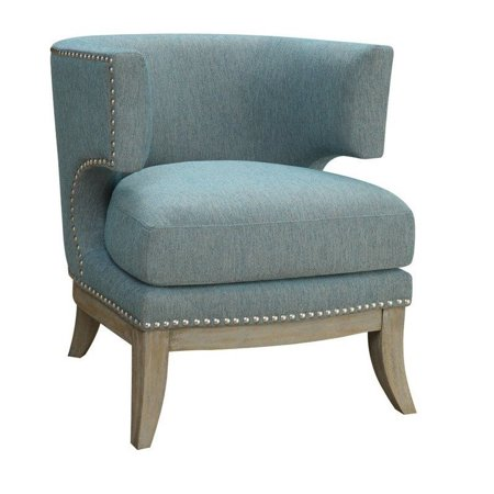 Coaster Transitional Barrel Back Design Accent Chair ()