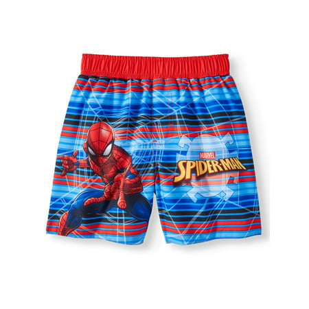 Check Swim Trunks (Spider-Man Swim Trunks (Toddler Boys) )
