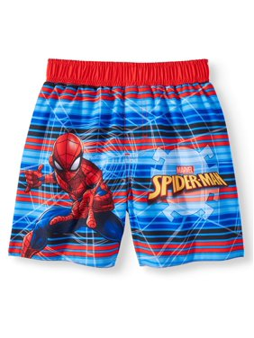 Spider-Man Swim Trunks (Toddler Boys)