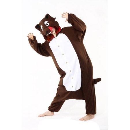Adult Big Bad Wolf Halloween Costume size Standard ONE SIZE - Halloween Costumes Big Bad Wolf