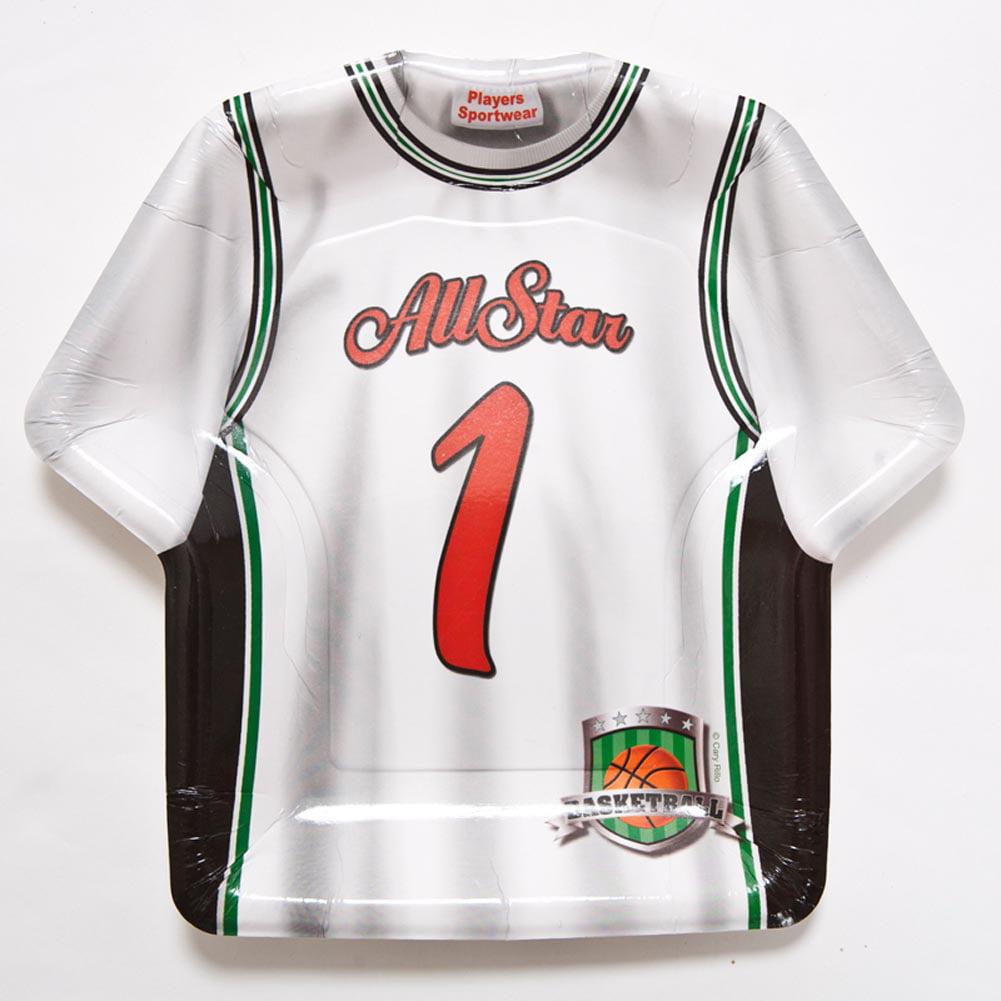 All Star Basketball Jersey Plates