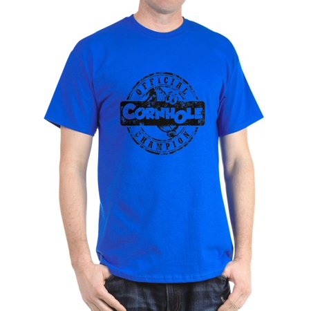 763c95ab55e1 CafePress - Cornhole Champion - 100% Cotton T-Shirt - Walmart.com