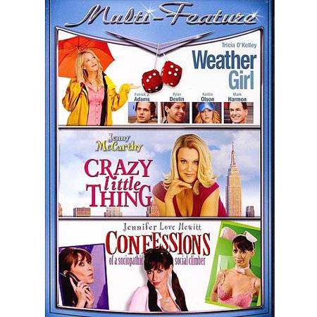 Romantic Comedy Triple Feature: Weather Girl / Crazy Little Thing / Confessions Of A Sociopathic Social (List Of Negative Effects Of Social Media)