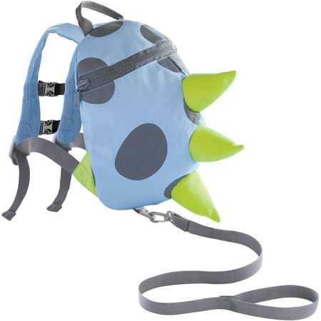 On the Goldbug Toddler Child Safety Security Harness and Monster Backpack,