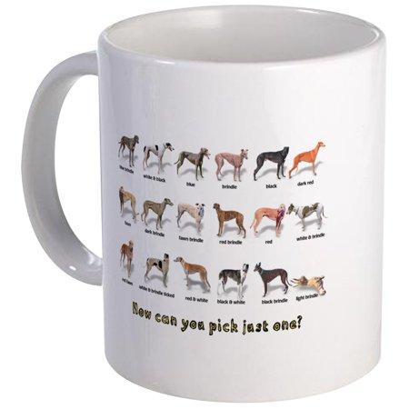 CafePress - Greyhound Colors Mug - Unique Coffee Mug, Coffee Cup CafePress