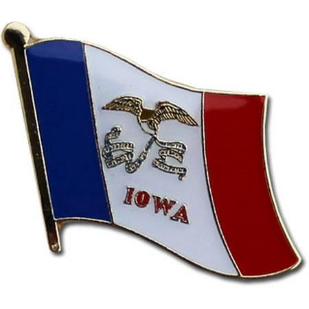 Iowa Hawkeyes Lapel Pins (Iowa Flag Lapel Pin)