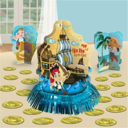 Jake And The Neverland Pirates Table Decorations - Party - Jake And The Neverland Pirates Table Decorations