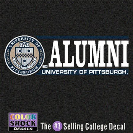 Pittsburgh Panthers Decal - Seal W/ Alumni Over University Of Pittsburgh Panthers