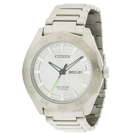 Citizen Eco Drive Super Titanium Mens Watch Aw0060 54A