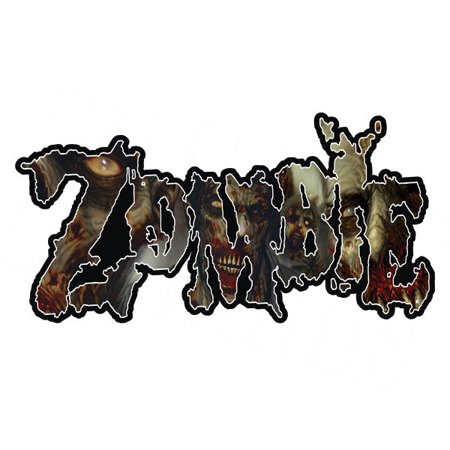 Zombie Decal Zombies Walking Dead Undead Vinyl Car Truck Sticker - The Walking Dead Car Accessories