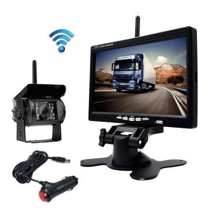 Podofo Wireless Backup Camera 7