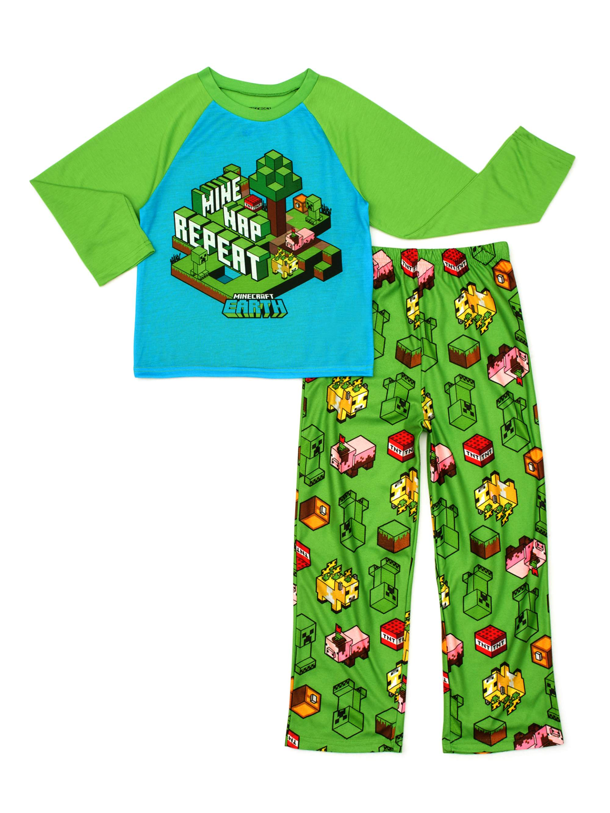 Minecraft Boys 2-Piece Pajama Set