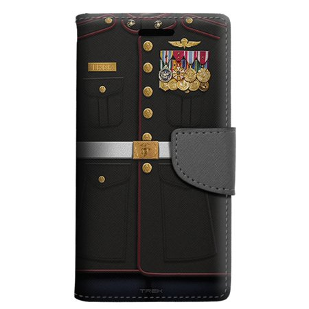 quality design 04fc7 c5223 LG X power Wallet Case - USMC Dress Blue Uniform Case