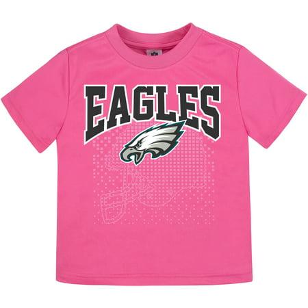 Girls Infant Gerber Pink Philadelphia Eagles T-Shirt