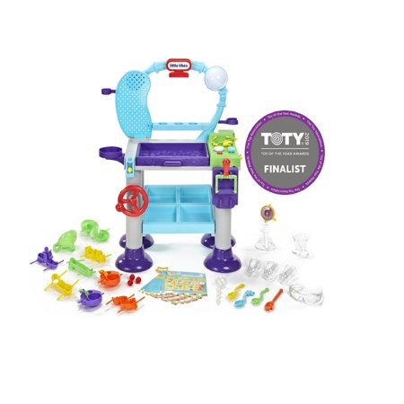 Little Tikes STEM Jr. Wonder Lab Toy with Experiments for - Demolition Lab