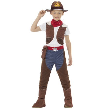 Deluxe Cowboy Child Costume - Cowboys Costume