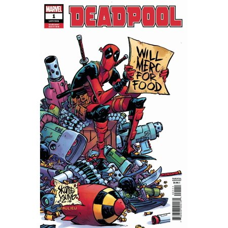 Marvel Deadpool #1 [Skottie Young Variant Cover]