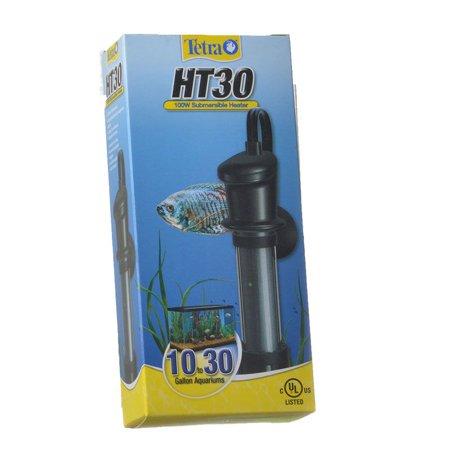 Tetra Submersible Heater HT30 Heater - 100 Watt - (Aquariums 10-30 Gallons) - Pack of (Tetra Submersible)