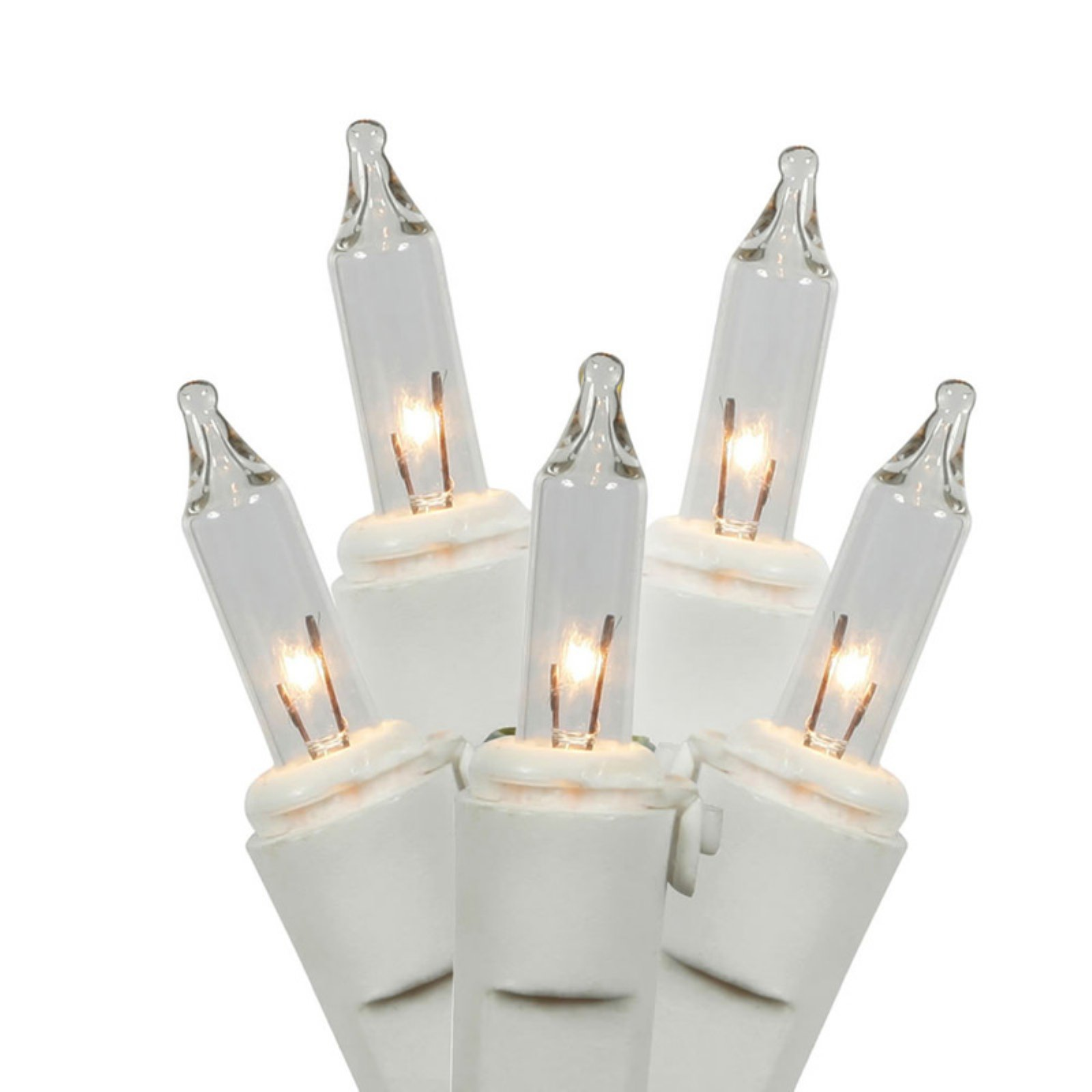 Vickerman Clear Mini String Lights, 100 Count