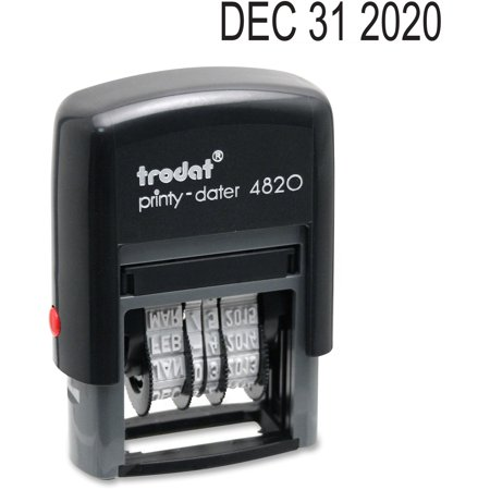 Trodat, USSE4820, Date Only Stamp, 1 (Dymo Date Time Stamp)