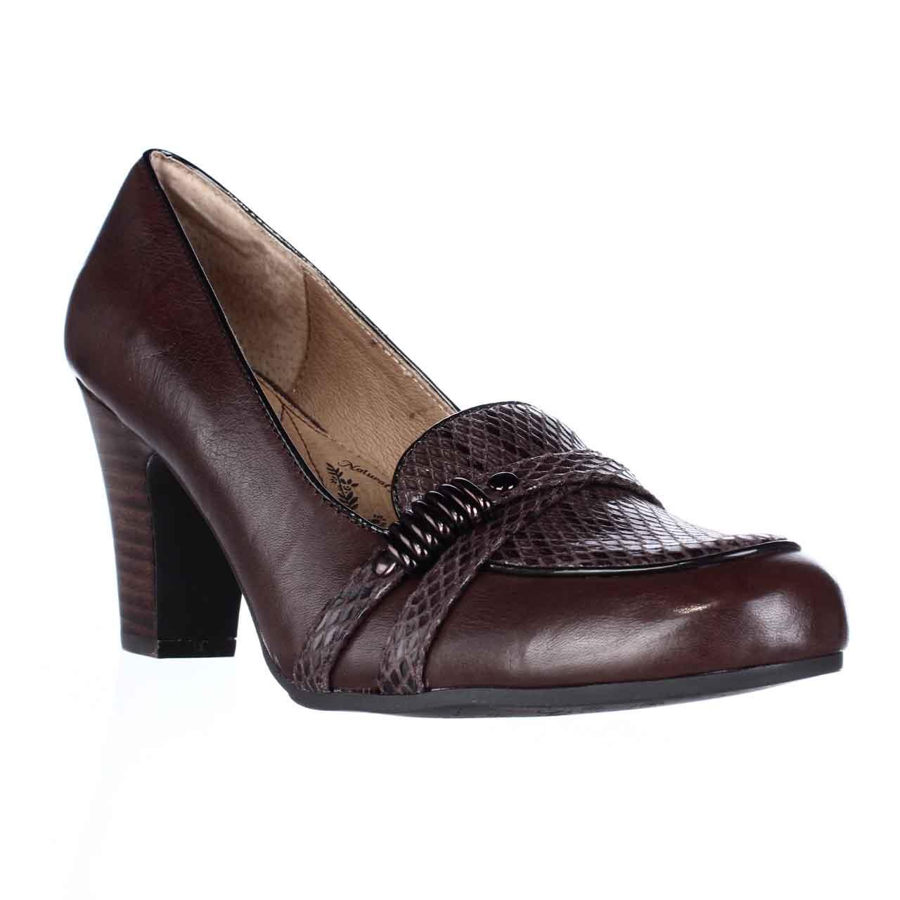 Womens Sofft Montara Loafer Pumps Coffee by Sofft