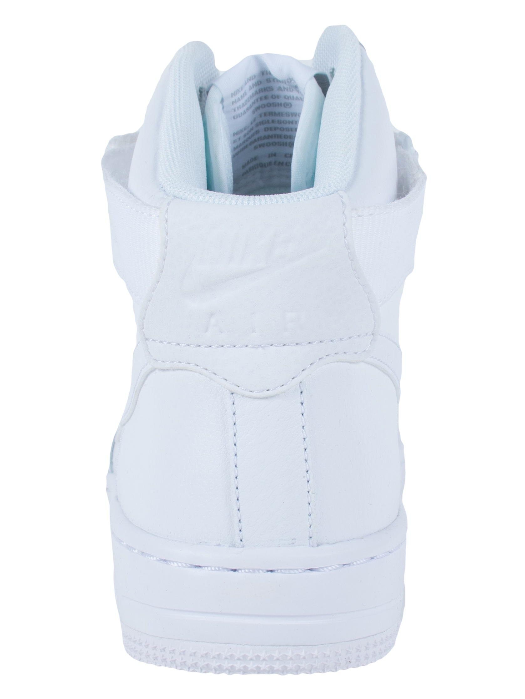 NIKE WOMENS AF1 ULTRA FORCE MID ESS SNEAKERS 749535 WHITE WHITE WOLF GREY 749535 SNEAKERS 100 41d7ac