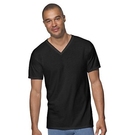 903e95827 Hanes - Men s Ultimate ComfortSoft V-Neck Undershirt