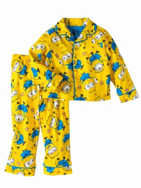 5581142a5b2a Product Image Despicable Me Toddler Boys Yellow Flannel Minions Pajamas  Sleep Set