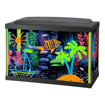 55 Gallon Tank - Interpet 5.5-Gallon GLOW LIFE Interactive Aquarium Kit