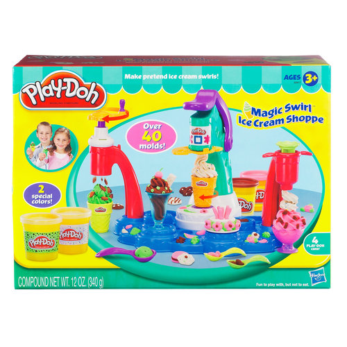 Play-Doh Magic Swirl Ice Cream Shoppe Food Set