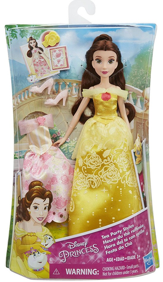 Disney Princess Belle's Tea Party Styles by Hasbro