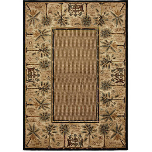 Mohawk Home Courtyard Palms Woven Rug