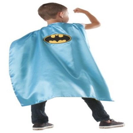 DC Reversible Batman / Robin Cape With Padded - Batman And Robin Capes
