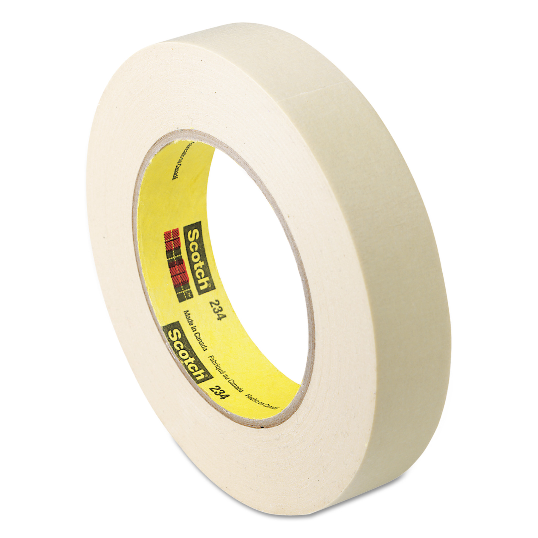 Scotch General Purpose Masking Tape 234, 24mm x 55m, 3\