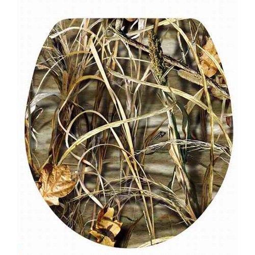 Topseat 6TSPR8652CP Vario Scenario Realtree Camouflage (APG, Max-1, Max 4 Patterns) Round 3D Toilet Seat