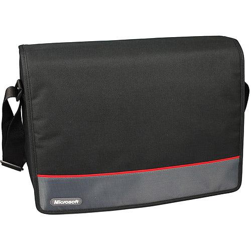 "Microsoft 15.6"" Messenger Laptop Bag, Black"