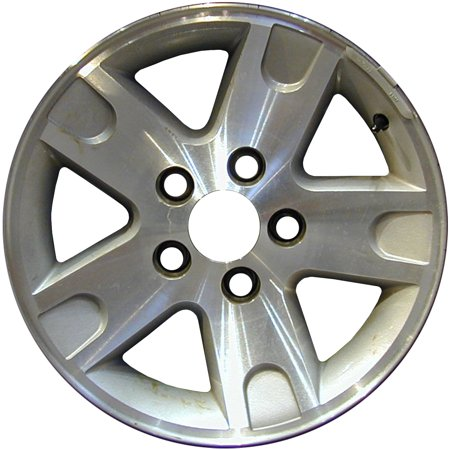Ford Explorer Sport Trac Gas Mileage (2005-2005 Ford Explorer Sport Trac  16x7 Alloy Wheel, Rim Sparkle Silver Painted with Machined Face - 3463 )