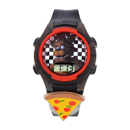 Five Nights at Freddy LCD with Multi Flashing Case and Icon Watch