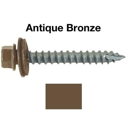 14 Metal Roofing Screws 250 Screws X 1 1 2 Quot Antique