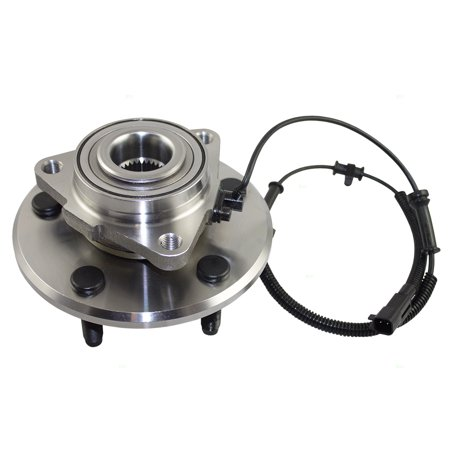 (Front Wheel Hub Bearing Assembly Replacement for Dodge Ram 1500 Standard & Crew Cab Pickup Truck 68088025AA 515113)