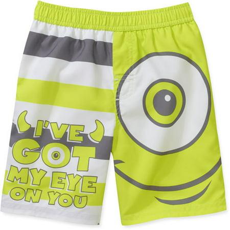 f4c7663c5a MONSTERS,INC. - Disney Baby Boys' Monster Inc Swim Trunk - Walmart.com
