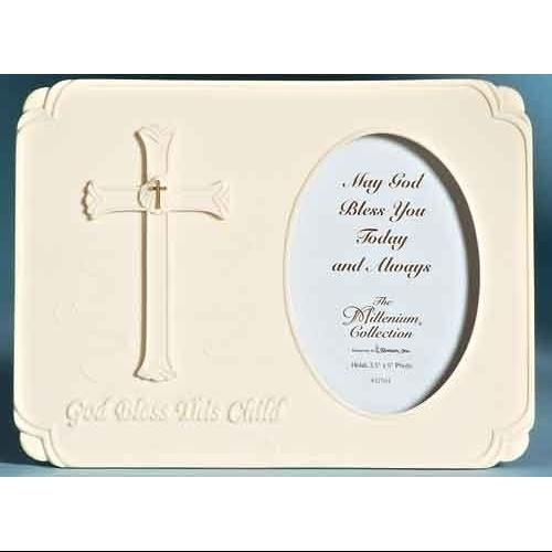 "The Millenium Collection Religious Baptism 3.5""x5"" Picture Frame #47561"