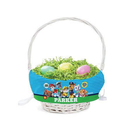 Easter Basket For Boys (Personalized PAW Patrol Top Pup Easter)